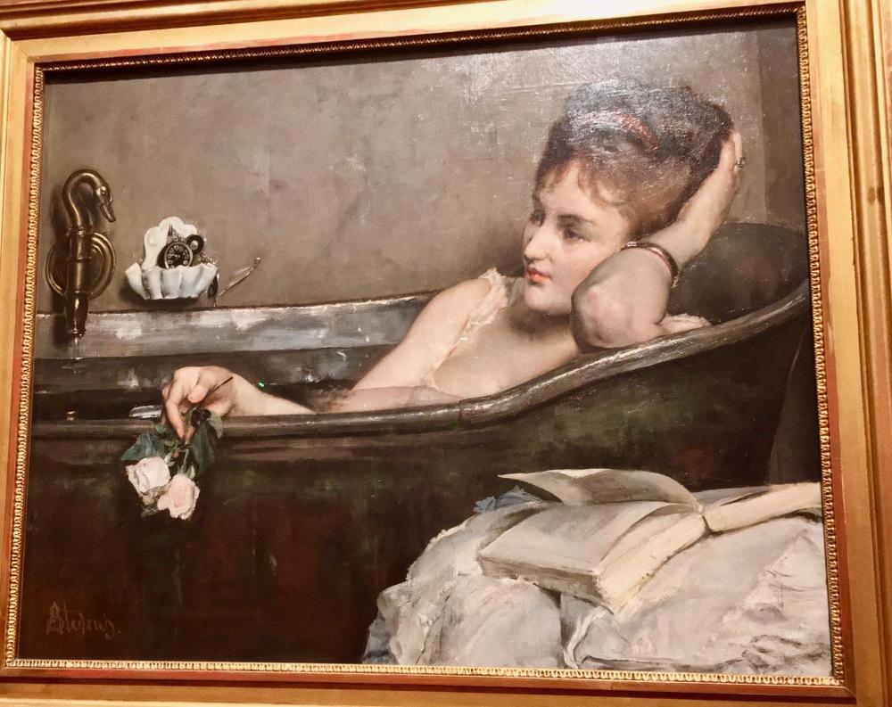 Le Bain by Alfred Stevens